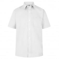 Boys White or Blue Shirt Short Sleeved