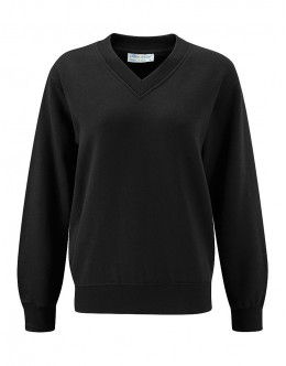 Minsthorpe Black V- Neck