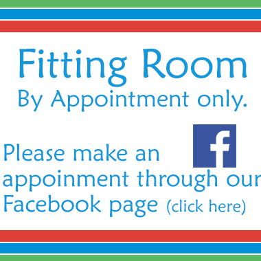 Fitting Room - By Appointment only